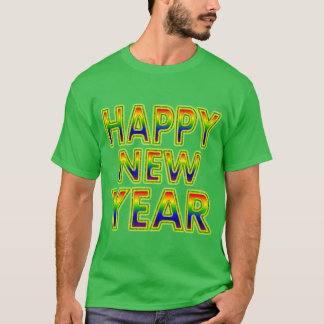 Men's Happy New Year Shirt. T-Shirt