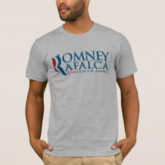Men's Heather Grey Romney Rafalca 2012 T-Shirt