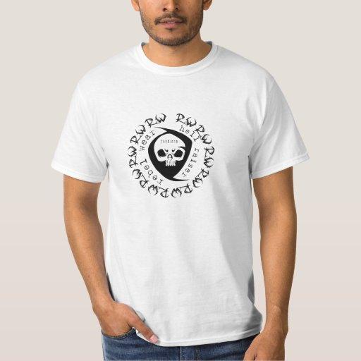 Men's Hell Raiser Tribal Skull Shirt