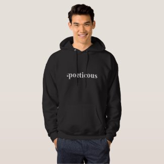 Men's Hooded Poeticous Sweatshirt