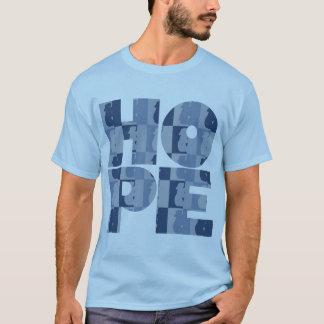 Men's HOPE Lt. Blue Basic Tee