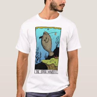 Men's Huge Manatee light T-shirt
