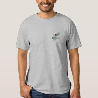 Men's I Love My Boonie Dog Shirt (Green)