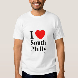 MENS I LOVE SOUTH PHILLY SPORT SHIRT - Customized