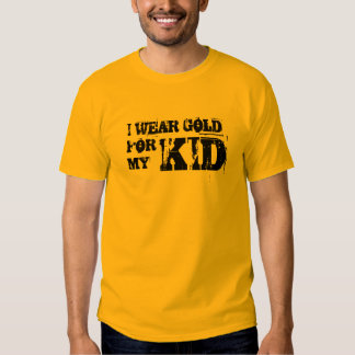 Men's I Wear Gold For My Kid T Shirt