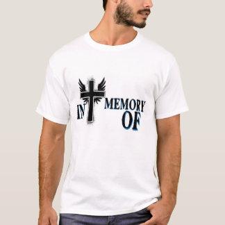 Men's In Memory of Tee Shirt w/ Cross