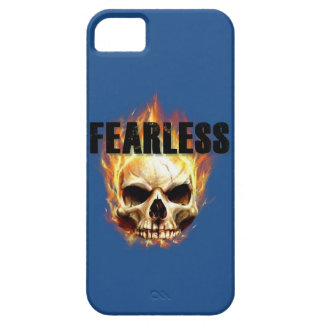 Mens IPhone Skull Fearless Case