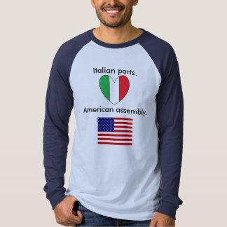 Mens Italian American Tee Shirt