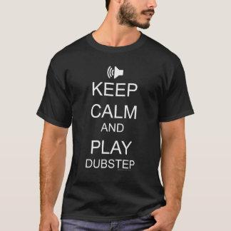 Mens KEEP CALM and DUBSTEP ON T-Shirt