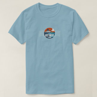 Men's Key West, Florida Fishing Souvenir T-Shirt