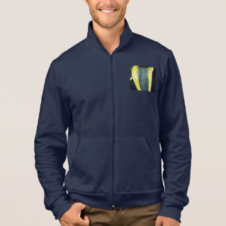 Men's leaf zip jogger jacket