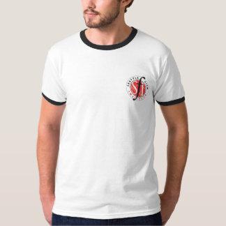 Mens Light Blue Ring SFI T T-shirt