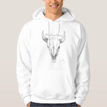 Men's Light Skull #2 Hoodie
