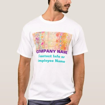 Professional Business Mens Light Tees- Just Peachy T-Shirt