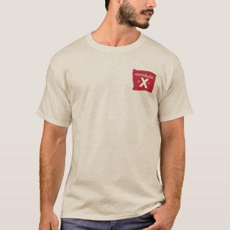 Men's Livin' the high life Cornhole X T-Shirt
