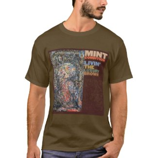 Men's Living The Luxury Brown T-Shirt