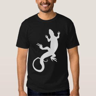Men's Lizard T-shirt Cool Reptile Lizard Art Shirt