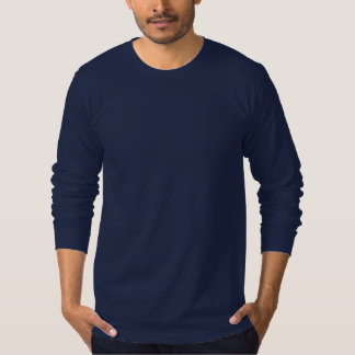 Men's Long Sleeve Seascape Logo T-Shirt