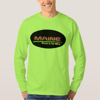Men's Long Sleeve T-Shirt MAINE STUCK IN THE 80's