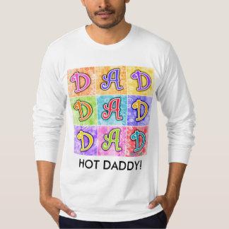 Men's Long Sleeve Tees - DAD Pop Art