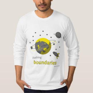 mens long sleeve tshirt - pushing boundries