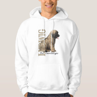 Men's Ludwig the Leonberger Puppy Hoodies