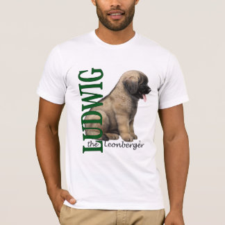 Men's Ludwig the Leonberger Puppy T-Shirts