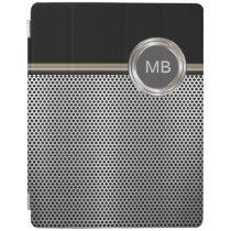 Men's Masculine Monogram iPad Case