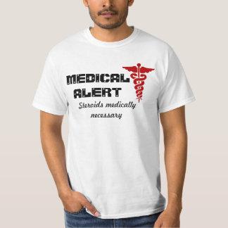 Mens medical alert shirt