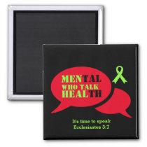 MEN'S Mental Health Awareness MEN WHO TALK HEAL Magnet