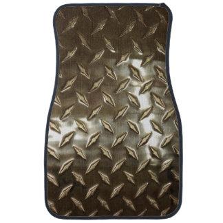 Men's Metallic aLook Car Floor Mat