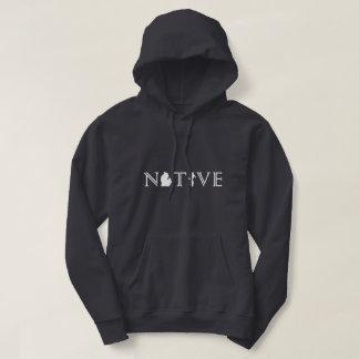 Men's Michigan NATIVE with Upper Peninsula hoodie