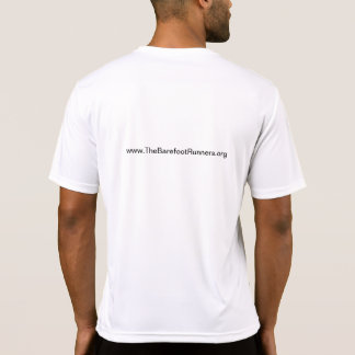Mens micro T logo URL+URL Back T-shirt