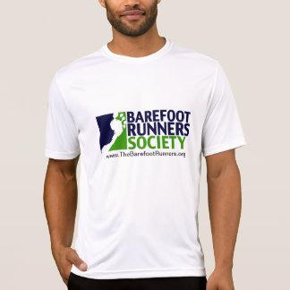 mens microfiber logo+url tshirt