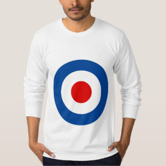 Men's Mod Roundel Long-Sleeved Tee