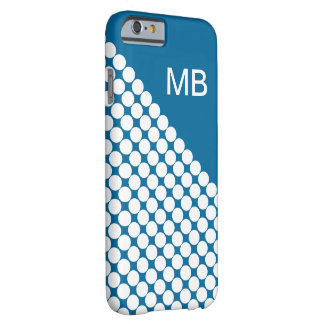 Men's Modern Monogram Barely There iPhone 6 Case