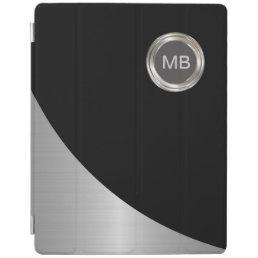 Men's Modern Monogram iPad Case
