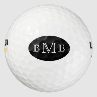 Men's Monogram Initials Golf Balls