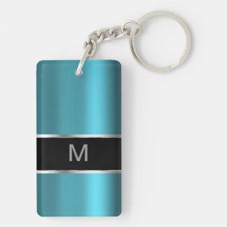 Mens Monogram Keychain