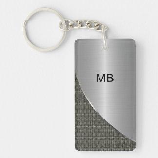 Men's Monogram Keychains