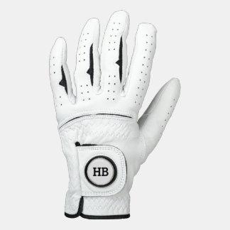 Men's Monogram Leather Golf Glove