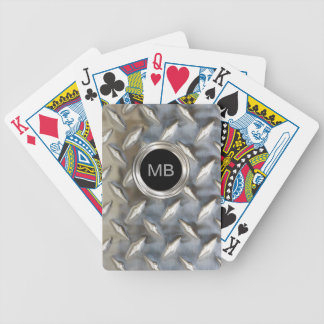 Men's Monogram Style Bicycle Playing Cards