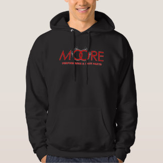 Mens Moore Performance Parts Hoodie - Red Logo