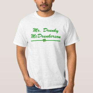 Men's Mr. Drunky McDrunkerson T-Shirt