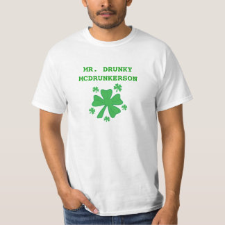 Men's Mr. Drunky McDrunkerson T-Shirt