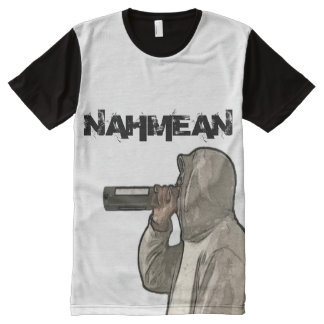 Men's Nahmean Apparel All-Over Printed T-Shirt