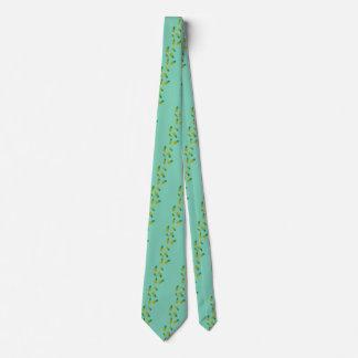 Men's Necktie with Pineapple Design