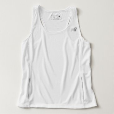 Beach Themed Men's New Balance Tempo Running Tank Top