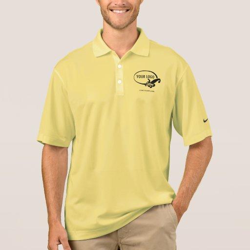 men 39 s nike dri fit custom logo business polo shirt zazzle