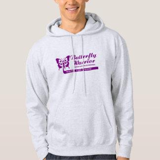 Men's or Women's hooded pull over sweat shirt